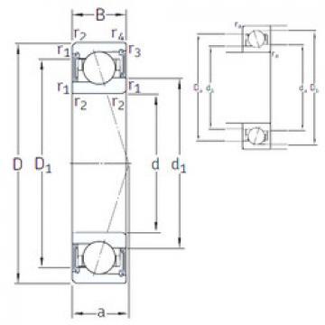 підшипник VEB 40 /S/NS 7CE1 SNFA